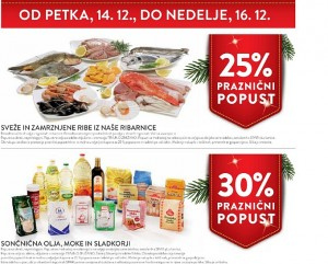 Spar in Interspar vikend akcija do 16. 12.