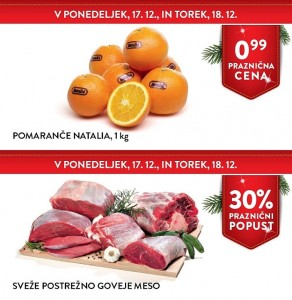 Spar in Interspar akcija do 18. 12.