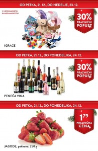 Spar in Interspar vikend akcija do 24. 12.