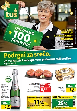 Tuš katalog trgovine in franšize do 10. 12.
