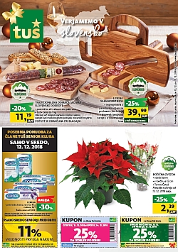 Tuš katalog trgovine in franšize do 17. 12.