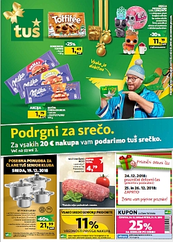 Tuš katalog trgovine in franšize do 24. 12.