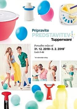 Tupperware katalog Let's Party!