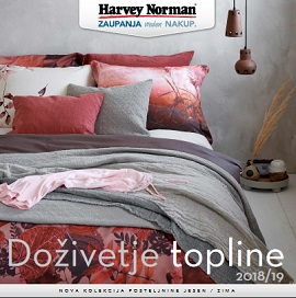 Harvey Norman katalog Posteljina