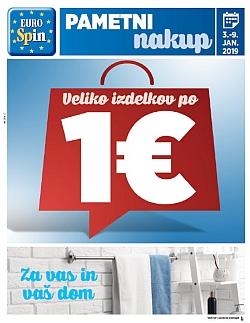 Eurospin katalog do 09. 01.