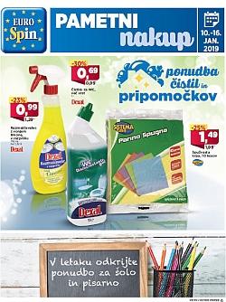 Eurospin katalog do 16. 01.