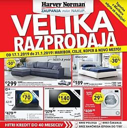 Harvey Norman katalog Velika razprodaja