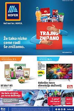 Hofer katalog od 03. 01.