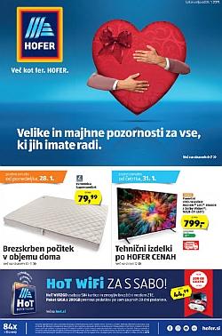 Hofer katalog od 24. 01.