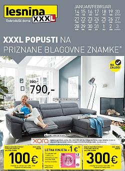 Lesnina katalog XXXL popusti – pohištvo in dodatki