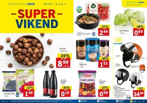 Lidl super vikend do 06. 01.