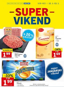Lidl super vikend do 13. 01.
