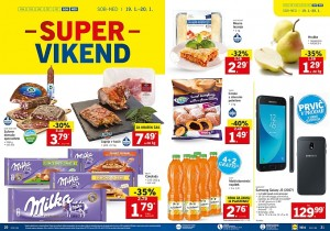 Lidl super vikend do 20. 01.