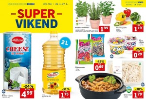 Lidl super vikend do 27. 01.