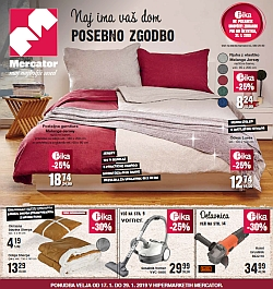 Mercator katalog Vaš dom do 29. 01.