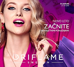 Oriflame katalog januar 2019