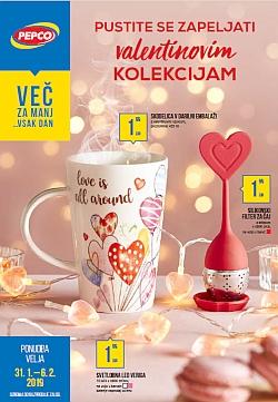 Pepco katalog Valentinove kolekcije do 06. 02.
