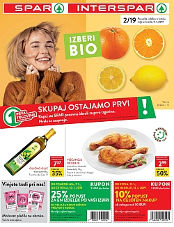 Spar in Interspar katalog do 15. 01.