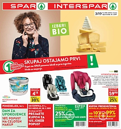 Spar in Interspar katalog do 22. 01.