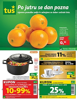 Tuš katalog trgovine in franšize do 28. 01.