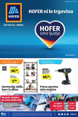 Hofer katalog od 10.1.