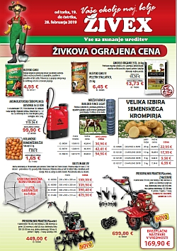 Živex katalog do 28. 02.