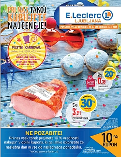 E Leclerc katalog Ljubljana do 03. 03.