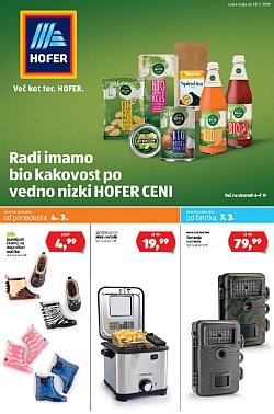 Hofer katalog od 28. 02.