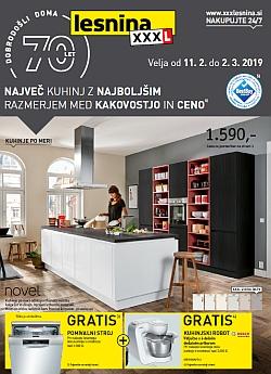Lesnina katalog Kuhinje do 02. 03.