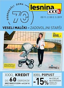 Lesnina katalog Veseli malčki do 02. 03.