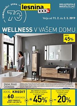 Lesnina katalog Wellnes v vašem domu