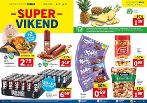 Lidl super vikend do 10. 02.