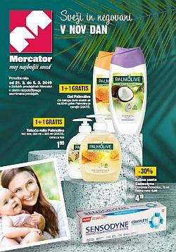 Mercator katalog Kozmetika in izdelki za malčke