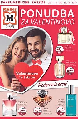 Muller katalog parfumerija Ponudba za Valentinovo