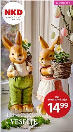 NKD katalog Velikonočno veselje