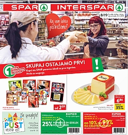 Spar in Interspar katalog do 26. 02.