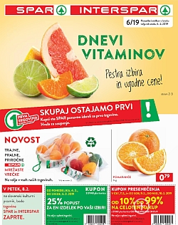 Spar in Interspar katalog do 12. 02.