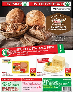 Spar in Interspar katalog do 19. 02.
