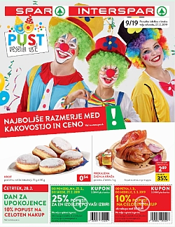 Spar in Interspar katalog do 05. 03.