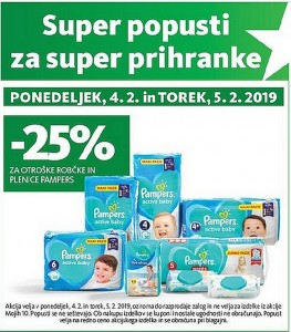 Tuš akcija Super popusti do 05. 02.
