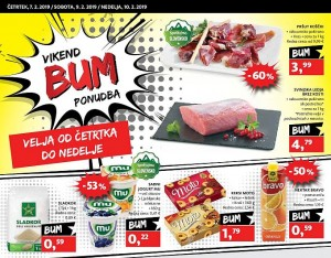 Tuš vikend BUM akcija do 10. 02.