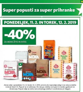 Tuš akcija Super popusti do 12. 02.