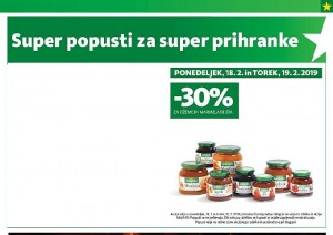 Tuš akcija Super popusti do 19. 02.
