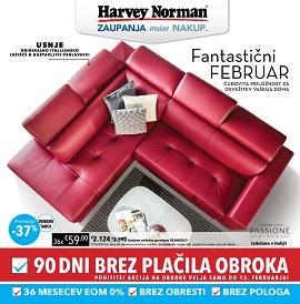 Harvey Norman katalog Pohištvo in spalnice