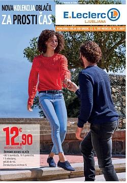 E Leclerc katalog Jeans do 24. 03.