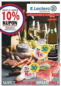 E Leclerc katalog Maribor do 31. 03.