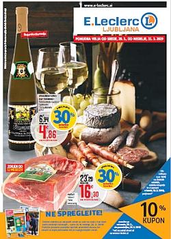 E Leclerc katalog Ljubljana do 31. 03.
