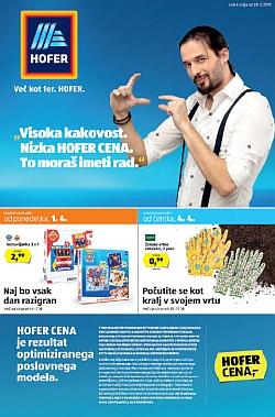 Hofer katalog od 28. 03.