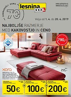 Lesnina katalog Najboljše razmerje do 20. 04.