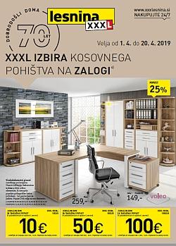 Lesnina katalog Kosovno pohištvo do 20. 04.